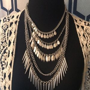 """""""On Pointe"""" necklace"""